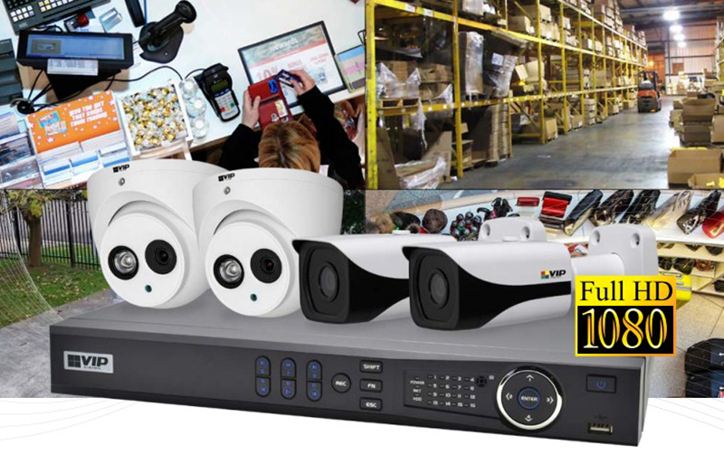 Vip Vision Nvr4propack3 4m Professional 4 Channel 4 0mp Ip